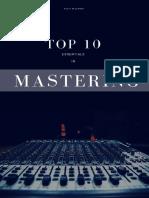 Top 10 Mastering Essentials