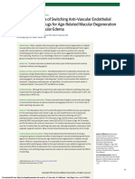 Evaluating Effects of Switching Anti–Vascular Endothelial Growth Factor Drugs for Age-Related Macular Degeneration and Dia
