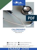 calendario ENARM