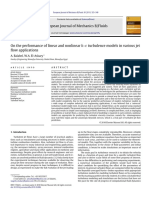 balabel10 - On the performance of linear and nonlinear k–ε turbulence models in various jet flow applications.pdf