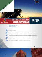 Analisis de Exportaciones Colombianas -Agosto