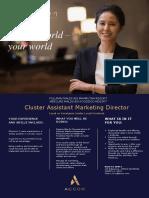 Cluster Asst. Director of Marketing.pptx