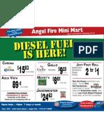 Angel Fire Mini Mart Specials 11/15/2010