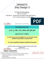 Lecture Note 2.0 Ship Scantling Design