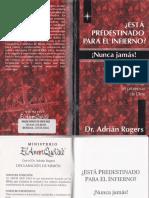 _Esta Predestinado Para El Infierno, Nunca Jamas - Adrian Rogers.pdf · Versión 1