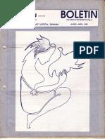 Serpaj Panama Boletin Informativo No 2 Marzo Abril 1989