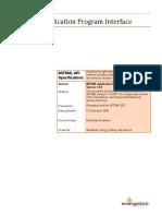 WITSML API Documentación