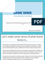 assessment 2  game sense ppt