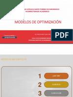 01A - MODELOS MATEMATICOS
