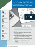 ECA Modern EU and FDA Validation