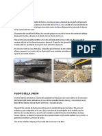 Estructuras Dañadas en La Cuenca Del Río Rímac