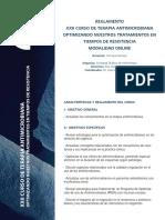 Reglamento Antimicrobianos Online 2019