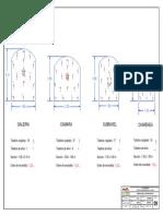 PLANO N° 09 MALLA DE PERFORACION Y VOLADURA-HORIZONTAL A3