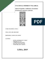 ETICA Del Discurso Informe