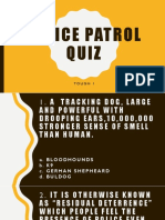 Police Patrol Quiz - Copy