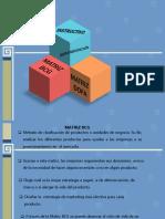 Instructivo para realizar matriz DOFA Y BCG