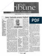 Daily Tribune, Oct. 1, 2019, Joey Salceda wants higher road tax.pdf