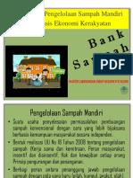 Bank Sampah Manajemen