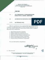 List of accredited bonding companies