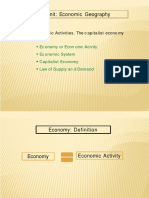 Economic geaography