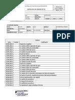 7 Historial de Mantenimientos - Pm 100029sp