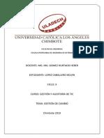 Transicion del servicio - Gestion de cambio.pdf