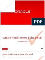 Oracle Retail Xstore Suite Install