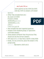 Prometric 2015 Dr.kadeeb Vol1.0. Jan2015 Solved