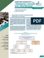 Informe Tecnico Mercado Laboral Nacional