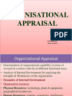 Organisational Appraisal