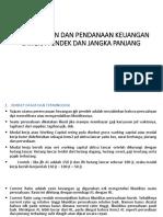 Perencanaan Dan Pendanaan Keuangan Jangka Pendek