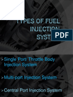 Types of Fuel Injection System 1