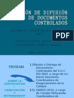 Difusión Oficial de Documentos Controlados
