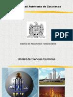 Curso de Reactores Homogeneos m.