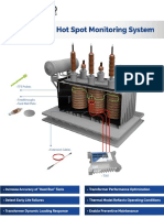 Transformer temperature monitoring system | Rugged Monitoring