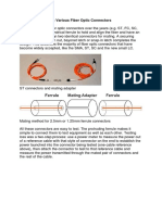 Testing Cables With Various Fiber Optic Connectors.docx