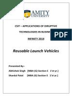 Reusable Launch Vehicles