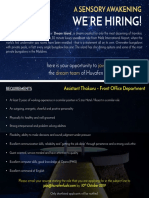 Job Advert - Assistant Thakuru (4)