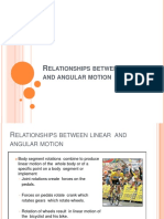 Relationships Between Linear and Angular Motion