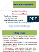 introduction to non linear system