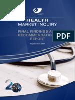 Health Market Inquiry Report