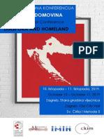 Konferencija Dijaspora i Domovina - Program