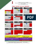 Calendario escolar 2019-20 Zaragoza