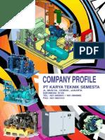 Web Company Profile Karya Teknik Semesta Halaman