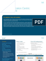 Cisco Application Centric - At a Glance