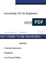 Accounting 101 for Engineers