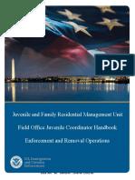 ICE Juvenile Enforcement & Removal Handbook
