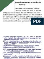 Lexico Grammar