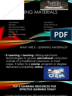 E- Learning Materials(1)