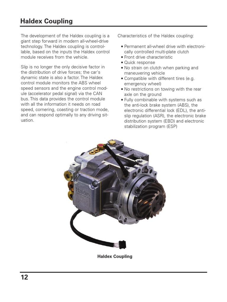Haldex Clutch Anti Lock Braking System 12 Volt Hydraulic Pump Wiring Diagram